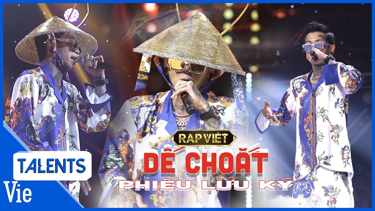 DẾ CHOẮT cháy bùng với lyrics thuần Việt cùng loạt ngôn từ đắt giá trong bản rap
