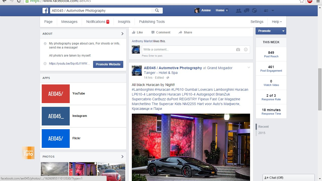 How to addedit youtubeinstagramtwitter tab to facebook page how to addedit youtubeinstagramtwitter tab to facebook page youtube ccuart Images
