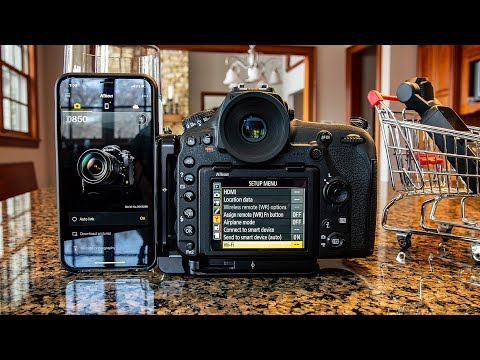 Nikon D850 Snapbridge Tutorial with iPhone Bluetooth/Wifi