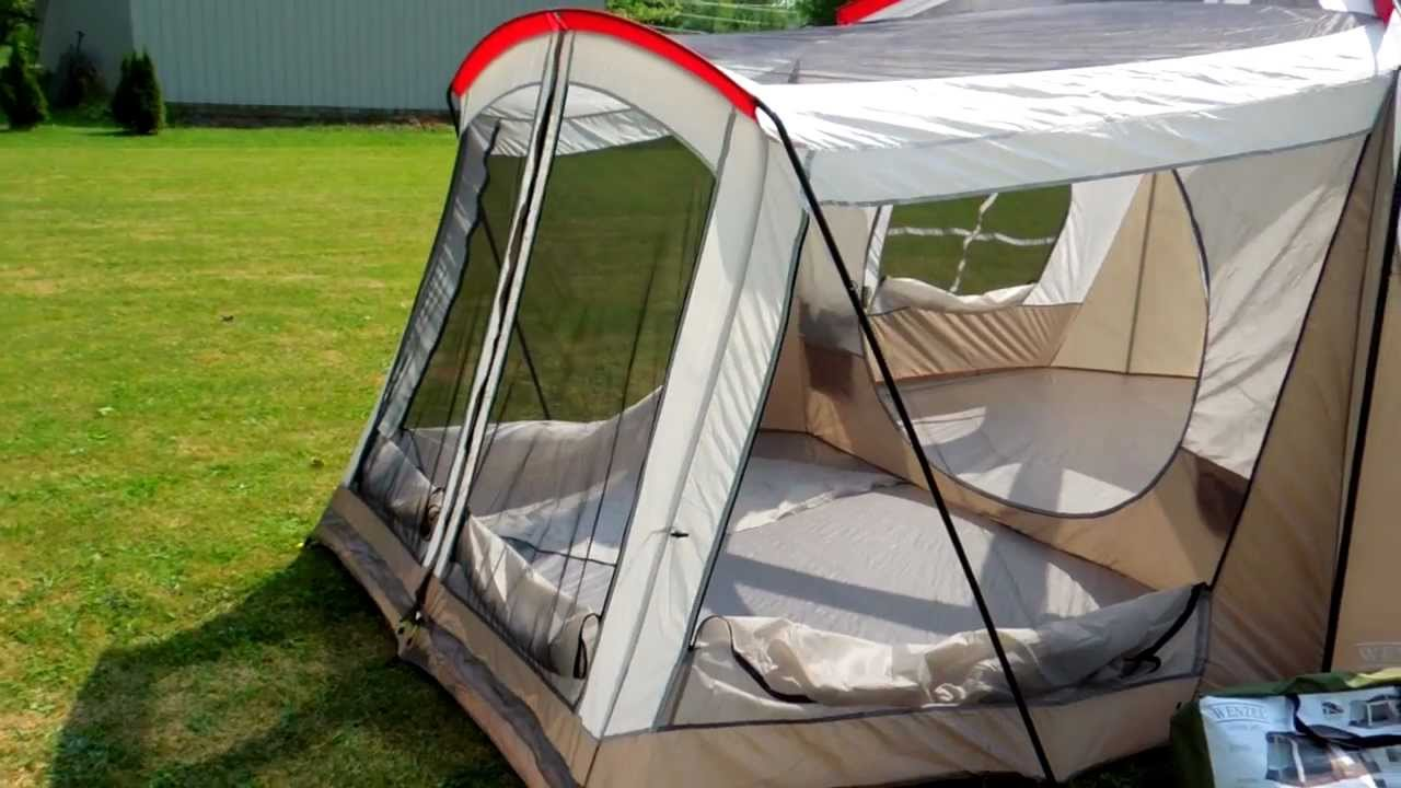 & Wenzel Klondike Tent Review (Part 1) 1080P - YouTube