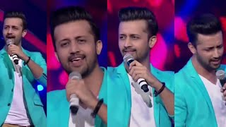 AtifAslam live singing in Gima Awards 2015 | Heart touching performance |