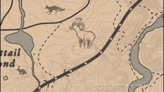 Red Dead Redemption 2 охота на легендарного животного толсторог