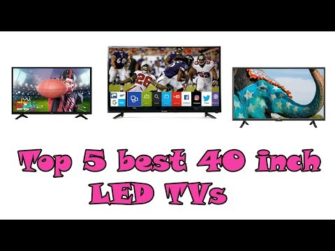 Top 5 best 40 inch  LED TVs in India (2018)
