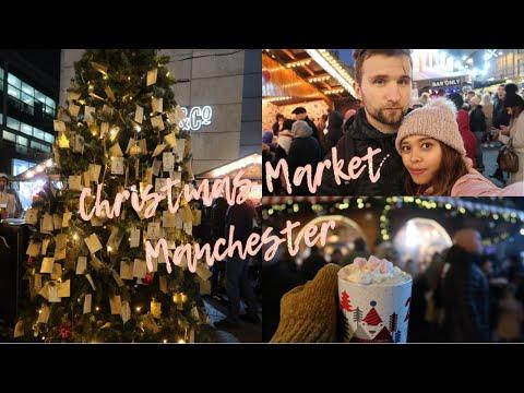 MANCHESTER CHRISTMAS MARKET 2019 || Pasar Natal Di Manchester 🎄