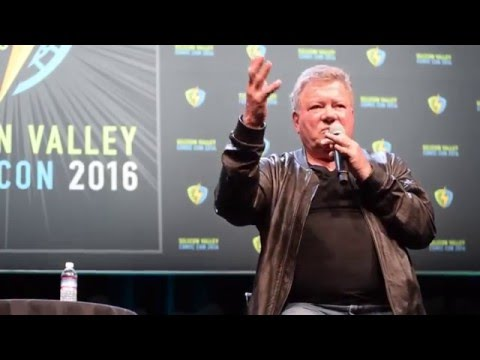 William Shatner - Silicon Valley Comic Con (SVCC) 2016 - Question & Answer featuring Steve Wozniak