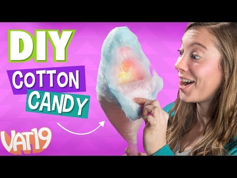 Thumbnail: MAKE COTTON CANDY using ANY hard candy!