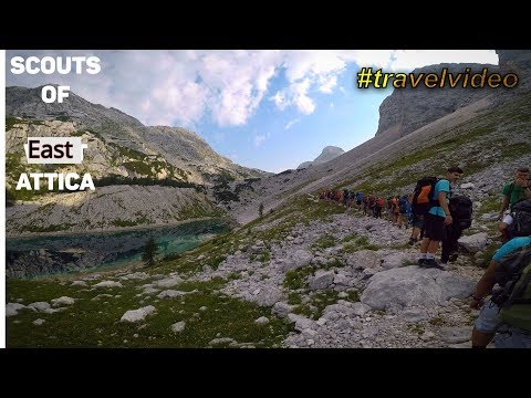 Greek scouts travel to Slovenia-Alps-Serbia 2018