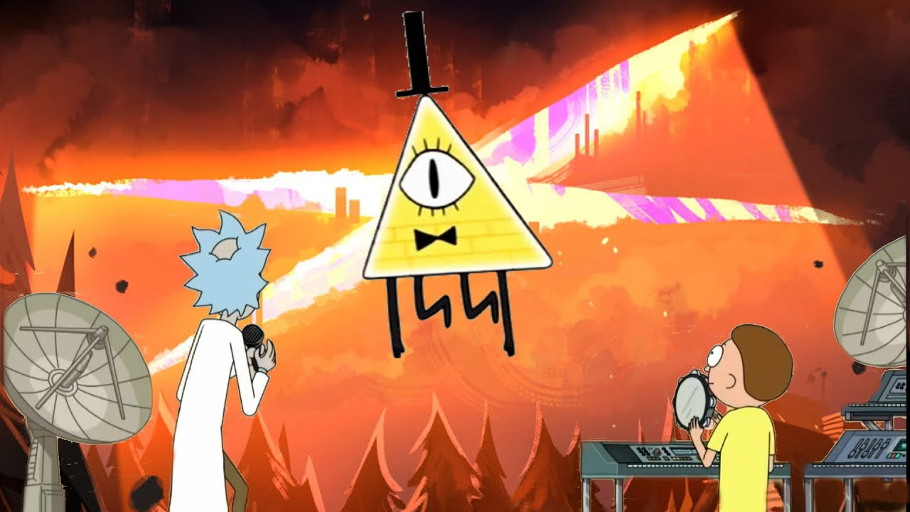 Gravity Falls Bill Wallpaper Gravity Falls Rick Amp Morty Get Schwifty Andromulus