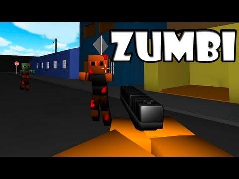 Zumbi Block Tiro nos Zumbis XD
