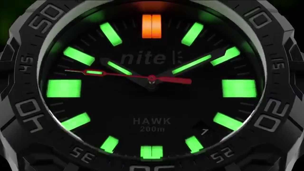 a4090e36e984 Nite Watches GTLS - Leaves other watches in the dark - YouTube