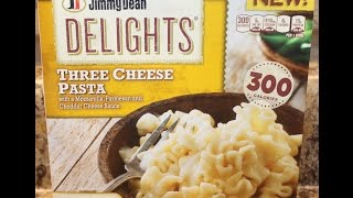 Jimmy Dean Delights Three Cheese Pasta Food Review