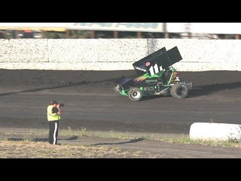 360 Sprints HEAT ONE 6-25-17 - Alissa Geving - Petaluma Speedway