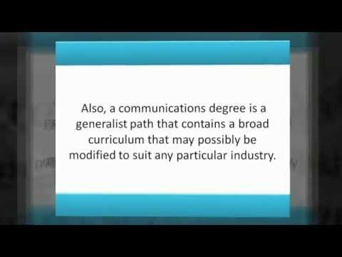 What Degree Programs In Communications Can You Choose From
