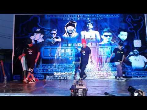 bboying dance in khandbari