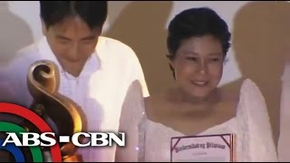 What UP Gawad Plaridel means to Nora Aunor
