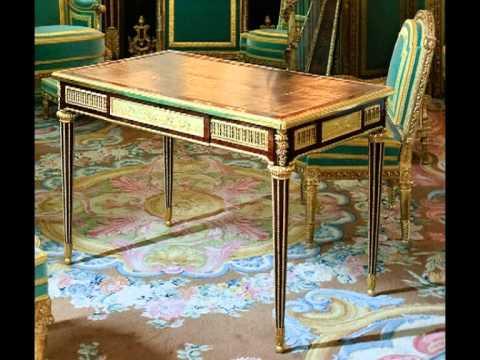 Muebles estilo luis xvi 1 parte amueblamientos completos youtube - Muebles estilo neoclasico ...