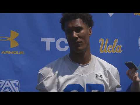 UCLA Football Media Availability - 8.13.18