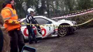 Gary Jennings Crash Galway International Rally 2015