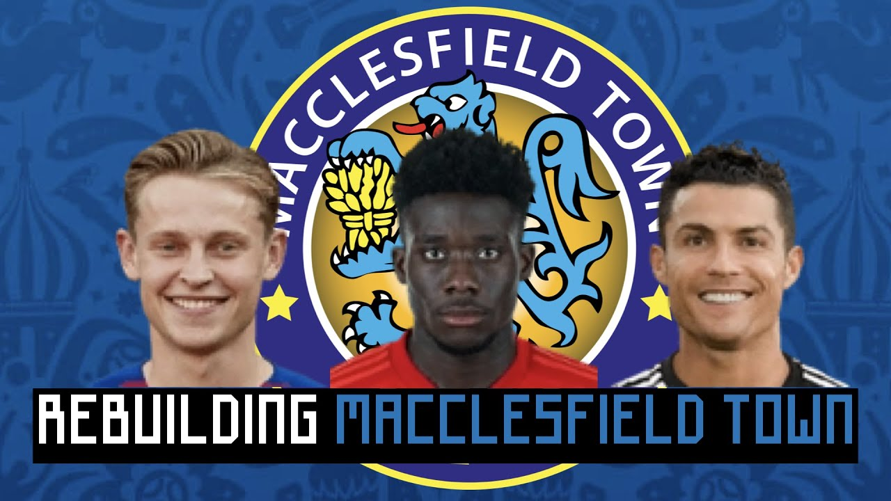 Rebuilding Macclesfield Town (Worst team in England)!!