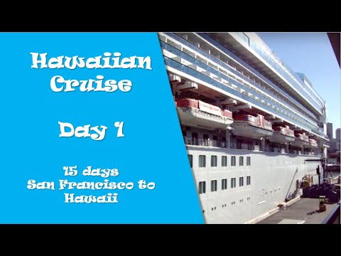 Hawaiian Cruise Day San Francisco To Hawaii YouTube - Cruise ships from san francisco