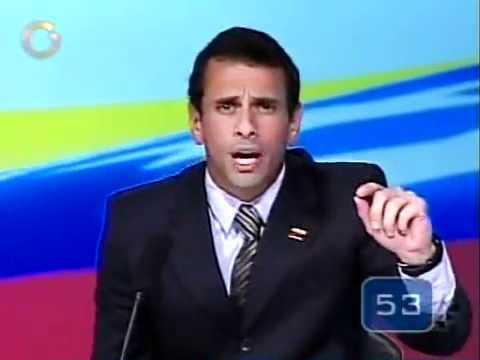 Henrique Capriles Radonski :Cómo dejaría a Venezuela después de su candidatura