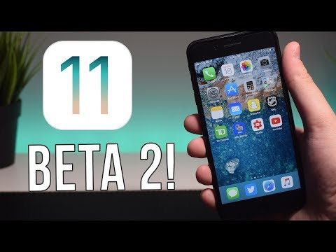 iOS 11 Beta 2 RELEASED! New Features & More!