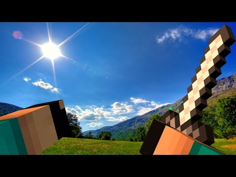 Minecraft - REALISTA!! MOD DAS SOMBRAS - SHADERS MOD!