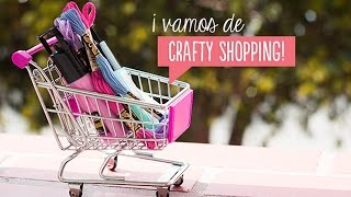 ¡A comprar materiales de manualidades con Liz! Craftingeek