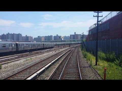 ᴴᴰ R1 - R9 Excursion D Train-  RFW footage from 36 Street to Coney Island (Via West End)