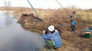 Рибалка в Тульській обл. р. Сежка.