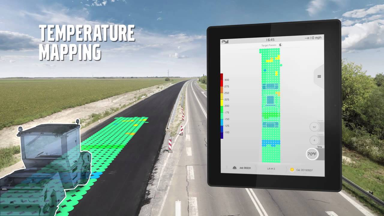 Revolutionizing the Paving Industry Volvo Intelligent Compaction with Density Direct - YouTube