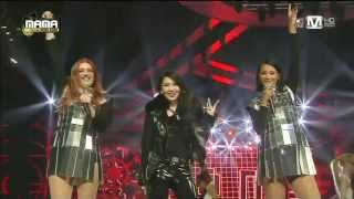 아이코나팝(Icona Pop) & 씨엘(CL) - All Night + I Love it at 2013 MAMA