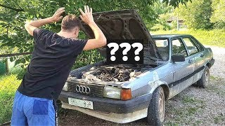 Audi 80 CC / Start After Long Time