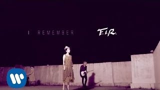飛兒樂團 F.I.R. - I remember (華納official 高畫質HD官方完整版MV)