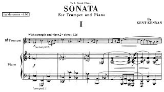 Kent Kennan - Sonata for Trumpet and Piano (1956/1986)