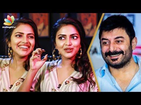 Amala Paul wants to assist Aravind Swamy |...