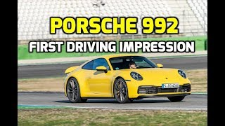 Porsche 992 first driving impression