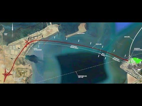 Jaber  el ahmed causway  bridge - kuwait  (marine bridge2)