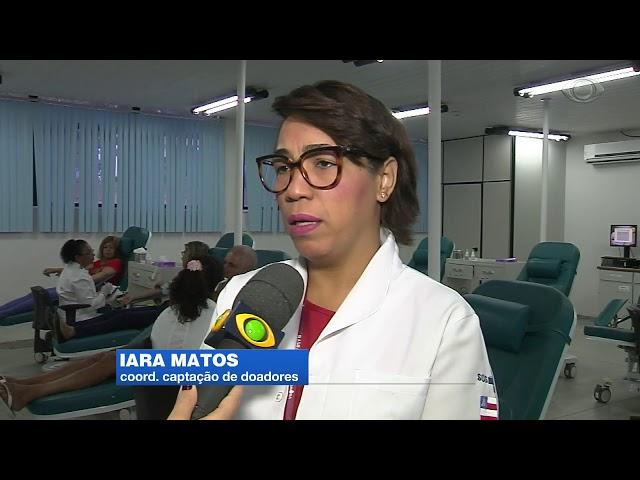 Band Cidade - Hemoba faz alerta para estoque crítico de bolsas de sangue
