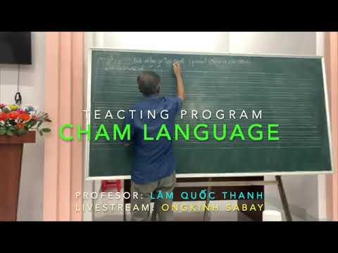 Dạy học tiếng Cham - Bài #04