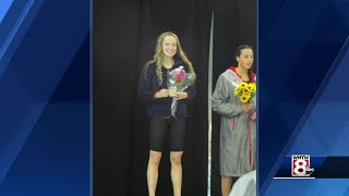 Maine swimmer wins two national titles