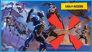 Fortnite week 5 blockbuster background battlestar location + NEW SKIN!!!