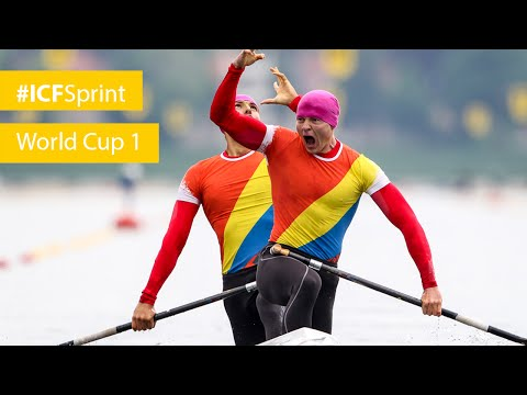 REPLAY: Duisburg day 3 - MORNING | 2016 ICF Canoe Sprint World Cup 1