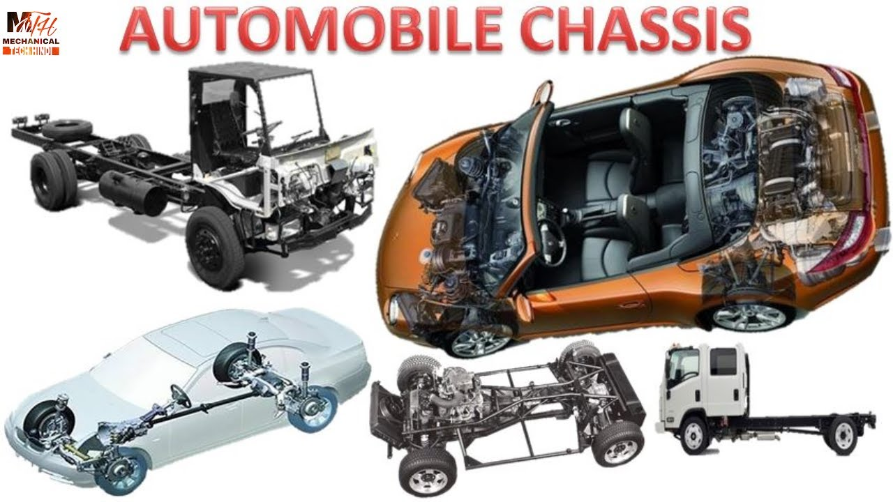 AUTOMOBILE CHASSIS & it's types