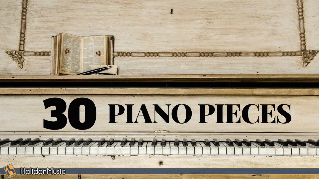 30 Most Famous Classical Piano Pieces Youtube