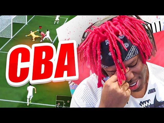 CBA TO PLAY FIFA 20 ANYMORE
