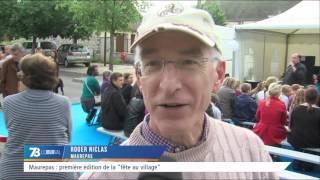 """Maurepas : première édition de la """"fête au village"""""""