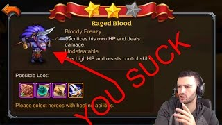 Heroes Charge- Quest for 100 Raged Blood Diff 5
