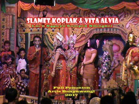 Slamet Koplak & Vita Alvia Lucu Ngguyu Sampek Njungkel Janger SBP