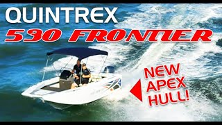 Quintrex Frontier 530 APEX HULL + Yamaha F115HP 4-Stroke boat review | Brisbane Yamaha
